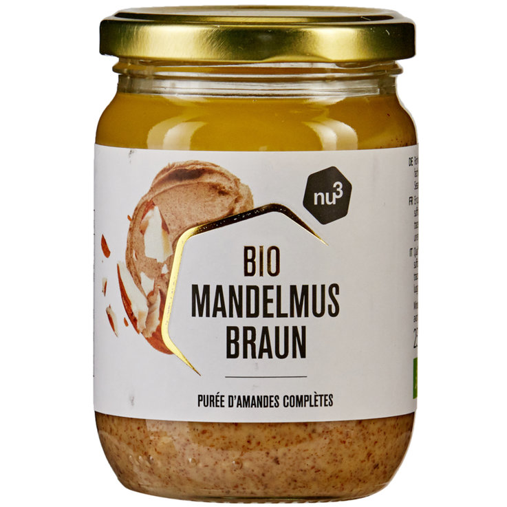 Other Sweet Spreads - nu3 Natural Almond Butter