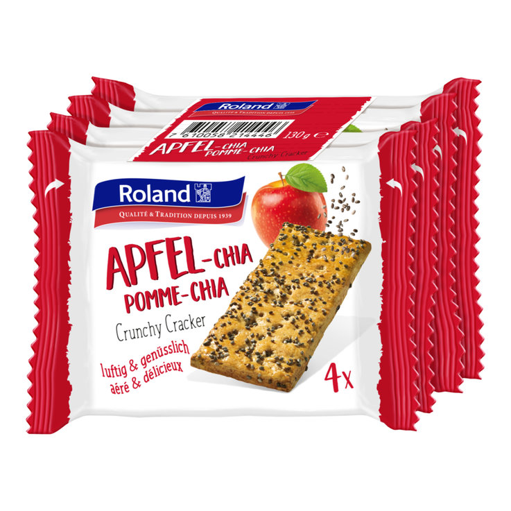 Sweet - Roland Apple Chia Seed Crackers
