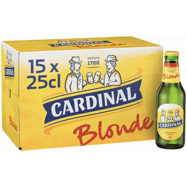 Beer Multipacks - Cardinal Lager Beer 15x25cl