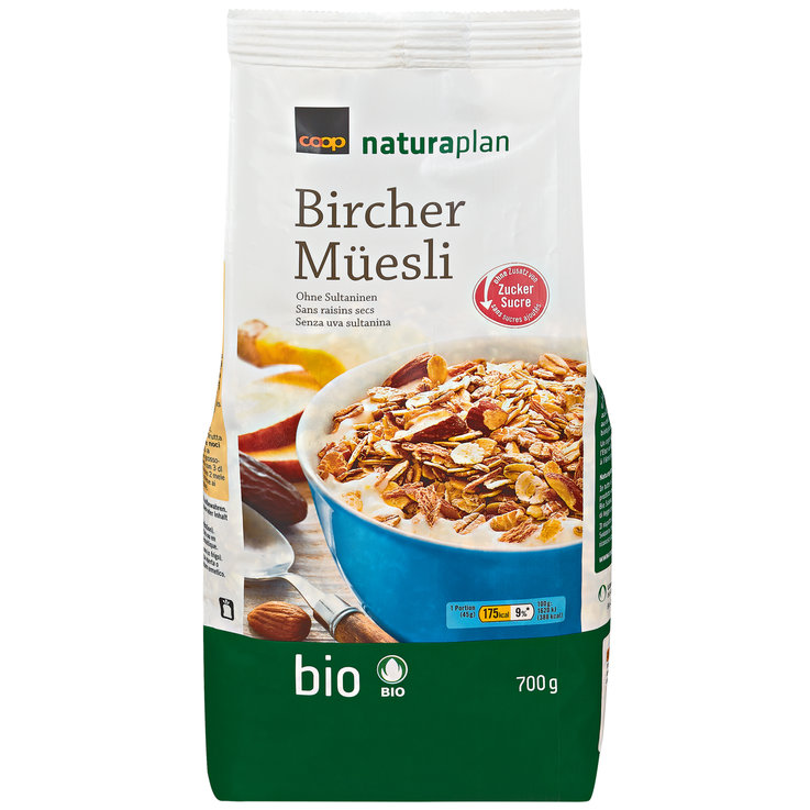 Muesli without Chocolate - Naturaplan Organic Birchermuesli