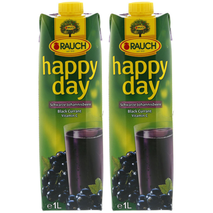 Autres jus de fruits - Happy Day Nectar de cassis 2x  1l