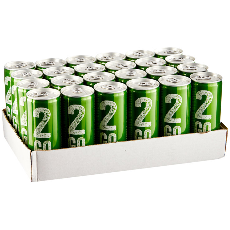 Energydrinks - 2Go Energy Drink Mojito 24x25cl