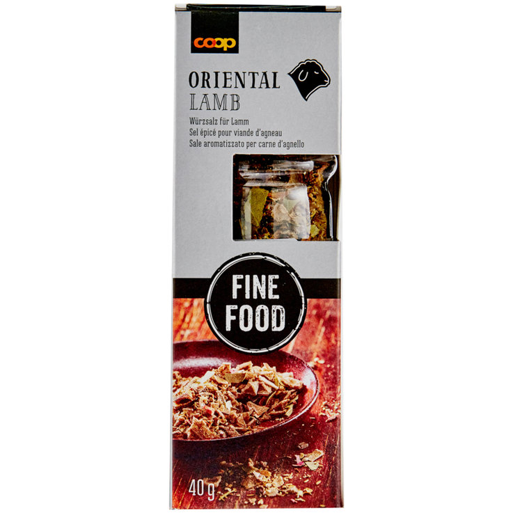 Meat Seasoning & Marinades - Fine Food Oriental Lamb Spice Mix