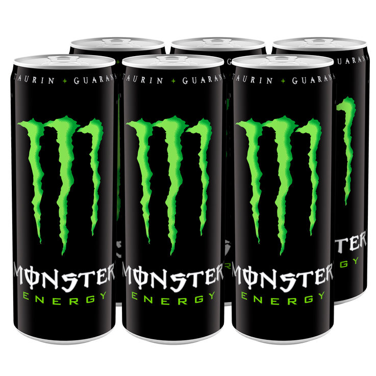 Energy drink - Monster Energy 35.5CL 6x  35.5cl