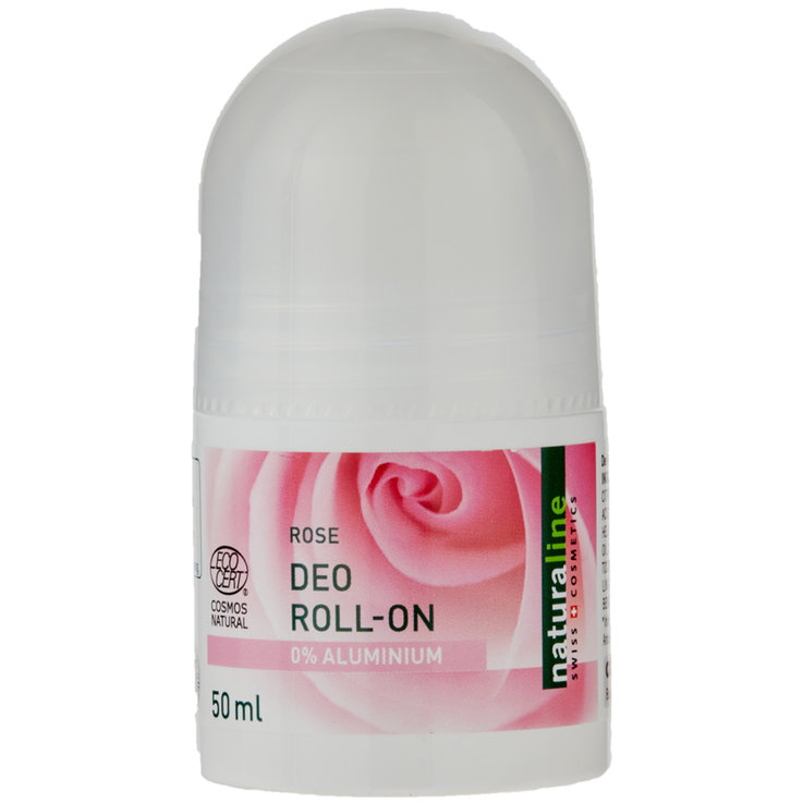 Roll-On & Stick Deodorant - Naturaline Rose Roll-on Deodorant without Aluminium