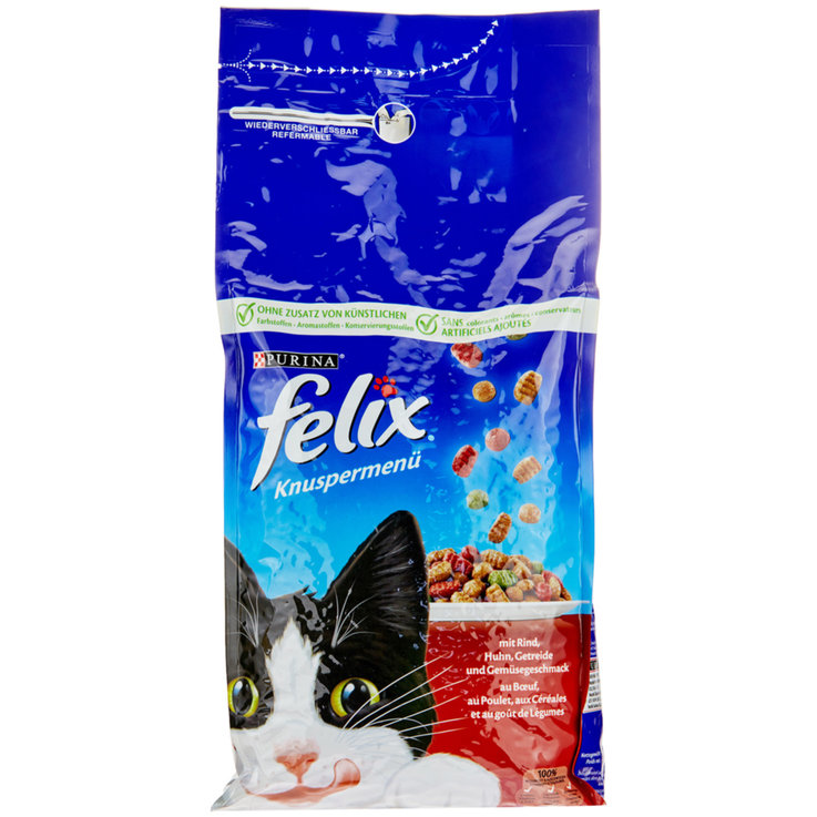 Dry Food - Felix Meat Flavoured Dry Cat Food