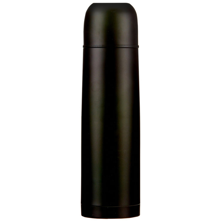 Jugs & Water Softeners - Galaxy Black Isothermic Bottle 1l