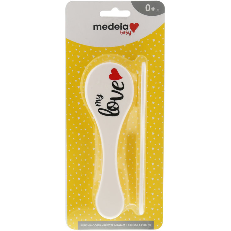 Care Accessories - Bibi Baby Brush & Comb 0 Months+