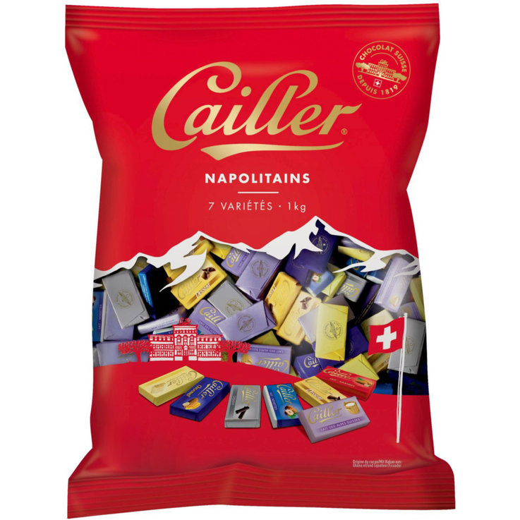 Snacks au chocolat - Cailler Chocolats napolitains
