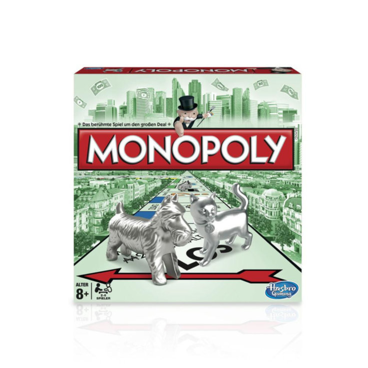 Games & Puzzles - New Edition Classic CH Monopoly 8 Years+