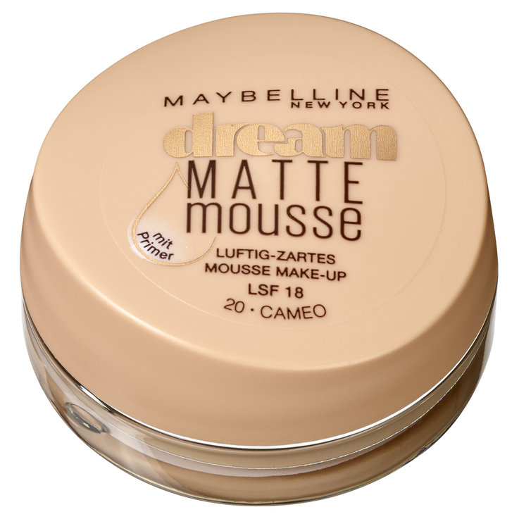 Gesicht - Maybelline Make-up Dream Matte Mousse 020 Cameo/Beige