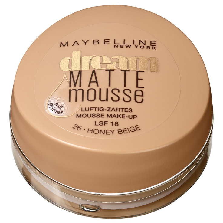 Face - Maybelline Make-up Dream Matte Mousse 026 Honey Beige