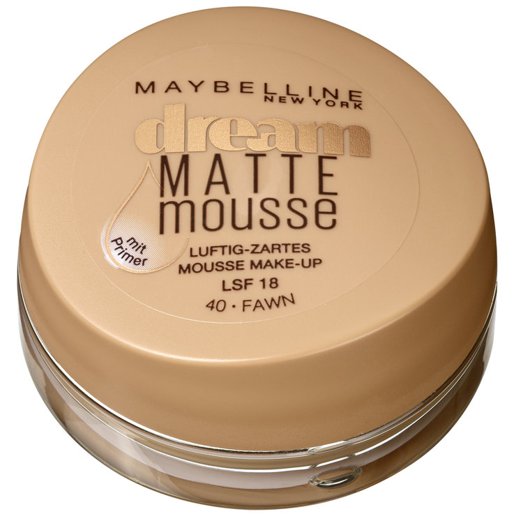 Face - Maybelline Make-up Dream Matte Mousse 040 Fawn/Canne