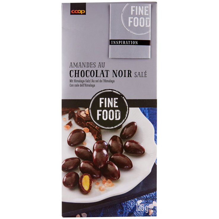 Sweet Nuts - Fine Food Fairtrade Dark Chocolate with Almonds