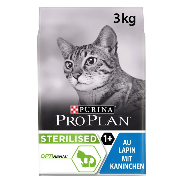 Dry Food - ProPlan Cat Sterilised Kaninchen