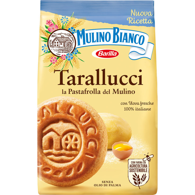 Cookies without Chocolate - Mulino Bianco Tarallucci Cookies
