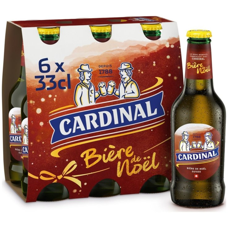 Bottles - Cardinal X-Mas Beer 6x33cl