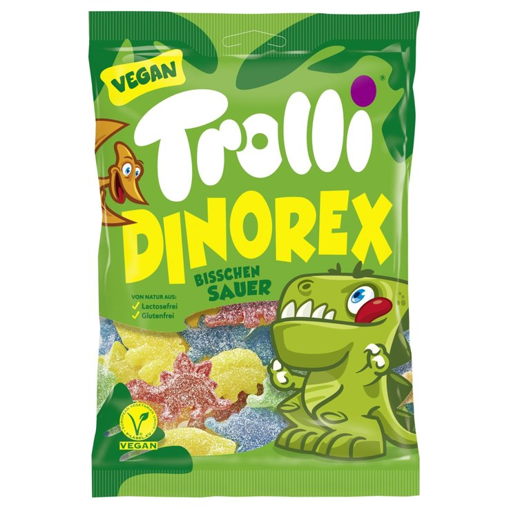 Caramelle gommose - Caramelle gommose Dino Rex Trolli