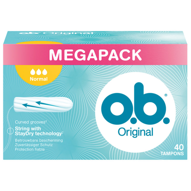 Normal - o.b. Tampons Normal 40 pièces