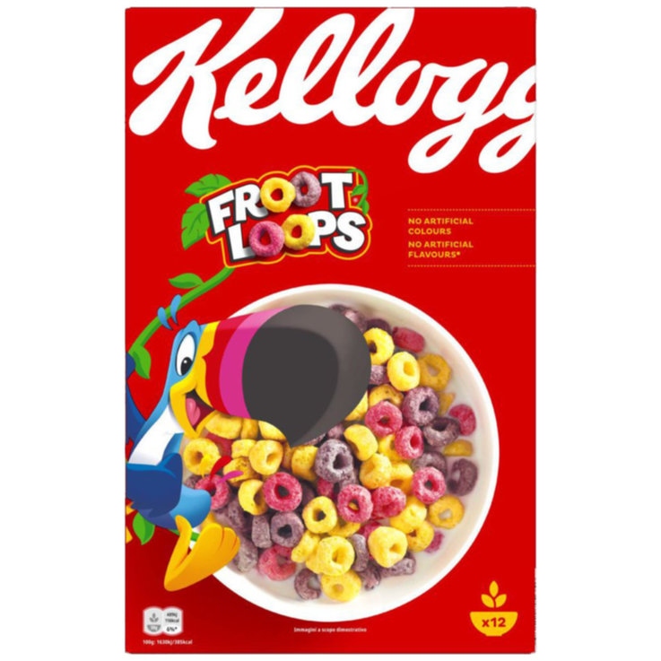 Cereali - Kellogg's Unicorn Froot Loops