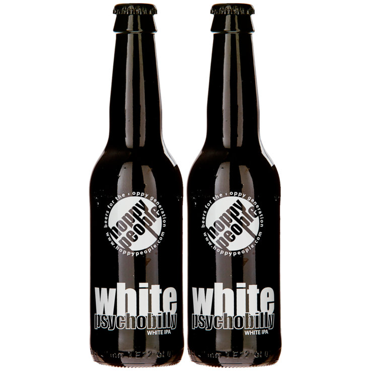Bottles - Hoppy People Psychobilly White Beer 2x  33cl
