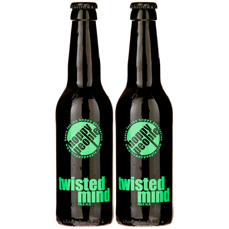 Bottles - Hoppy People Twisted Mind Beer 2x  33cl