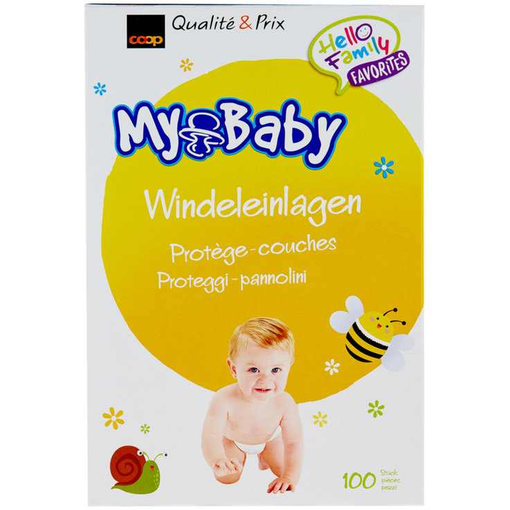 Bettunterlage & Pants - My Baby Windeleinlagen 100 Stück