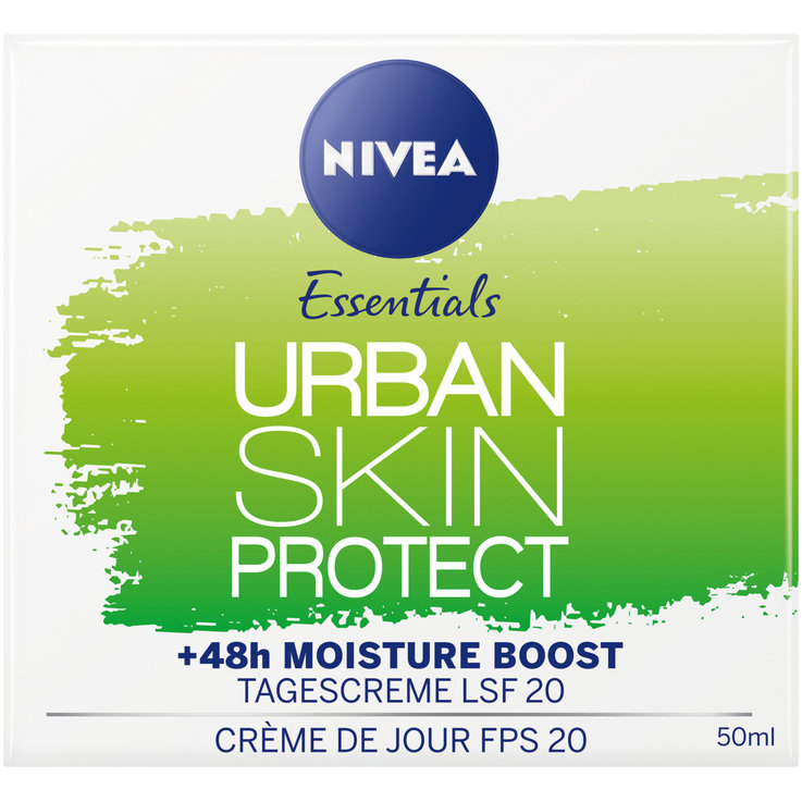 Normale & Mischhaut - Nivea Urban Skin Protect Tagescreme LSF20