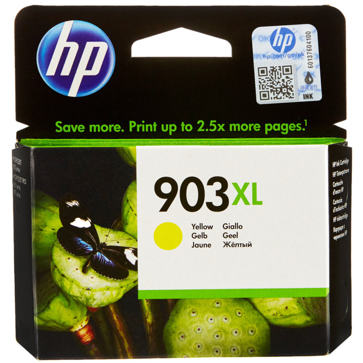 HP - HP Officejet 903XL Yellow Ink Cartridge