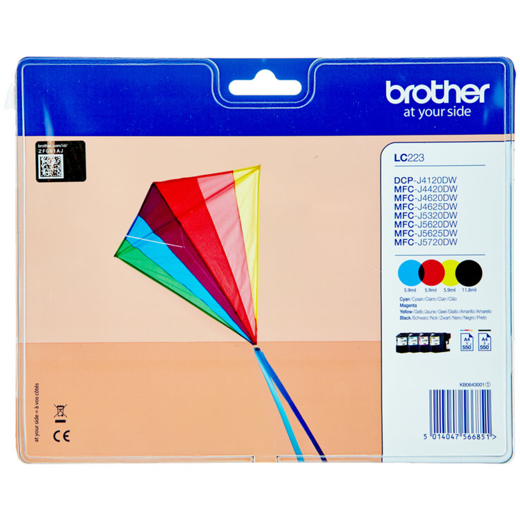 Brother - Brother J5620DW CMYK Ink Cartridge