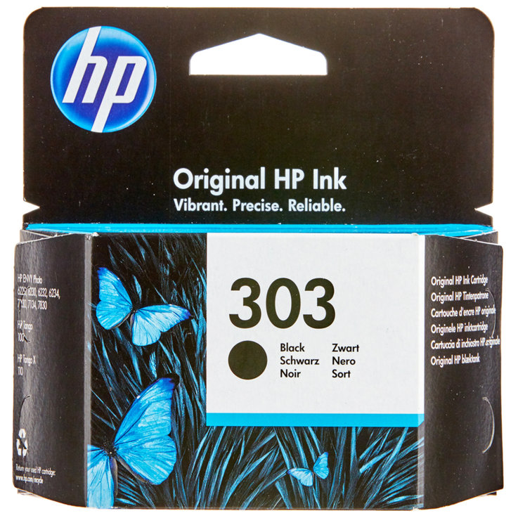 HP - HP 303 Black Ink Cartridge