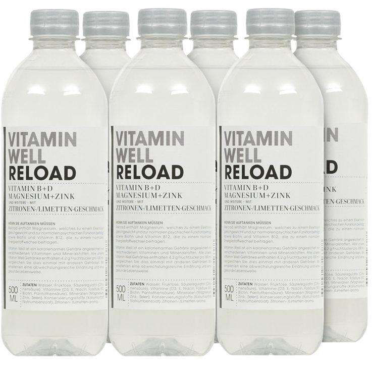 Sport Drinks - Vitamin Well Reload 6x  50cl