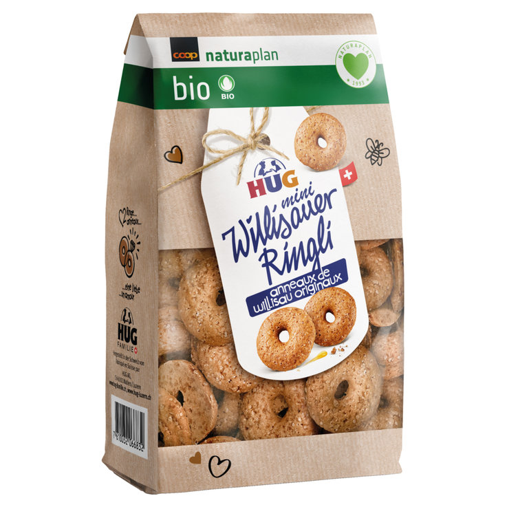 Other Cookies - Hug Naturaplan Organic Mini Willisauer Rings