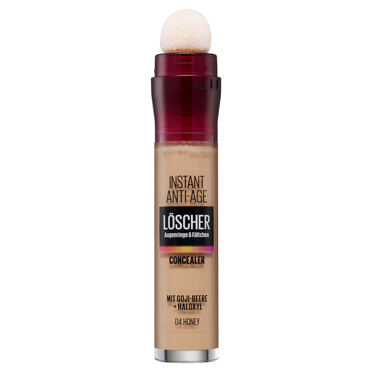 Gesicht - Maybelline Concealer Instant Anti-Age 04 Honey