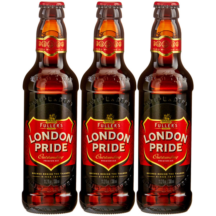 Flaschen - Fuller's London Pride Bier 3x  33cl