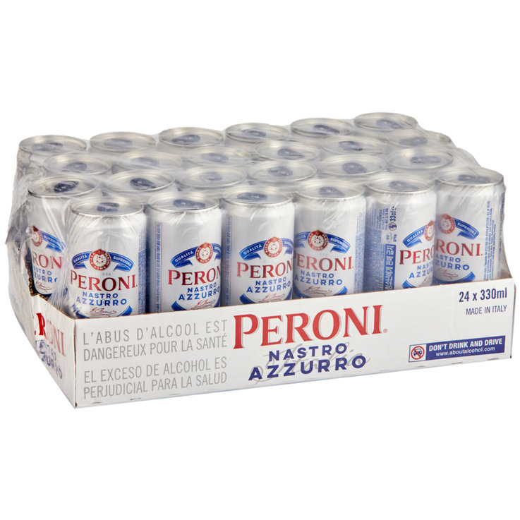 Beer Multipacks - Peroni Nastro Azzurro Beer 24x33cl