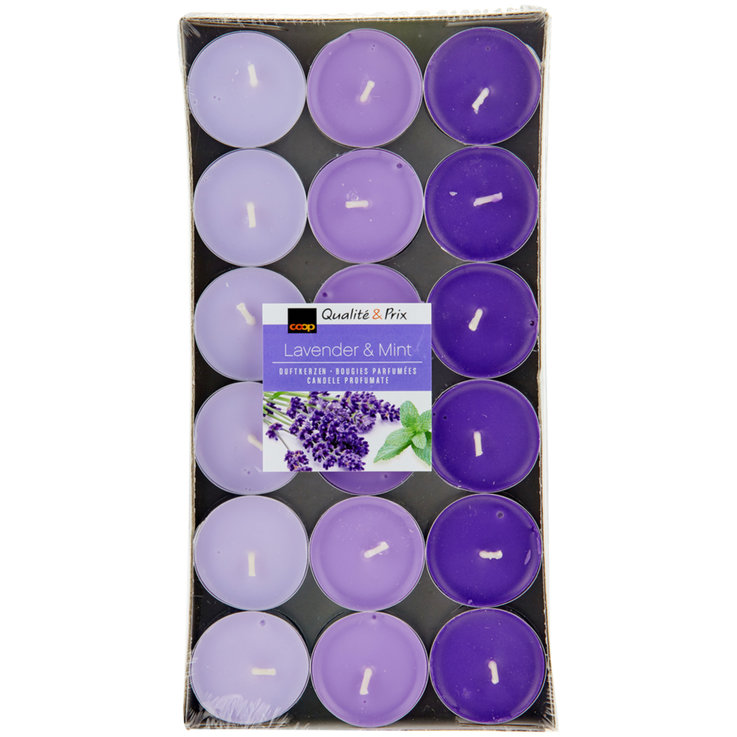 Tealights - Lavender & Mint Tealights 36 Pieces