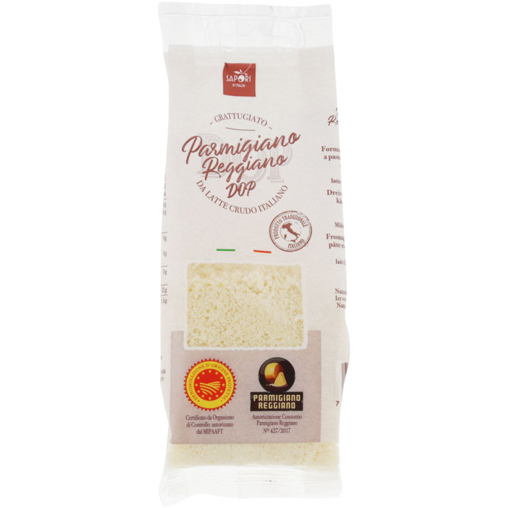 Grated Cheese - Grated DOP Parmigiano Reggiano