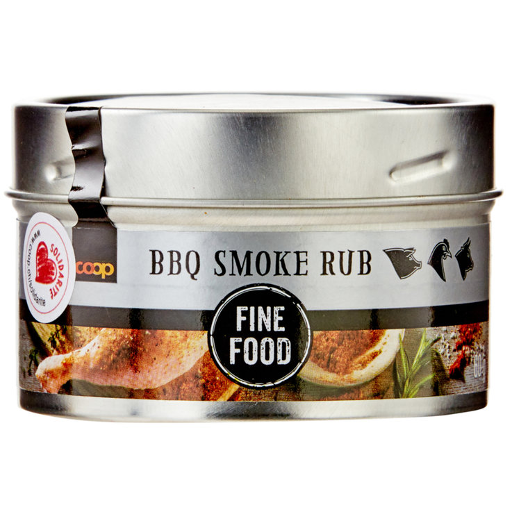 Spezie per carne & Marinate - Fine Food BBQ Smoke Rub