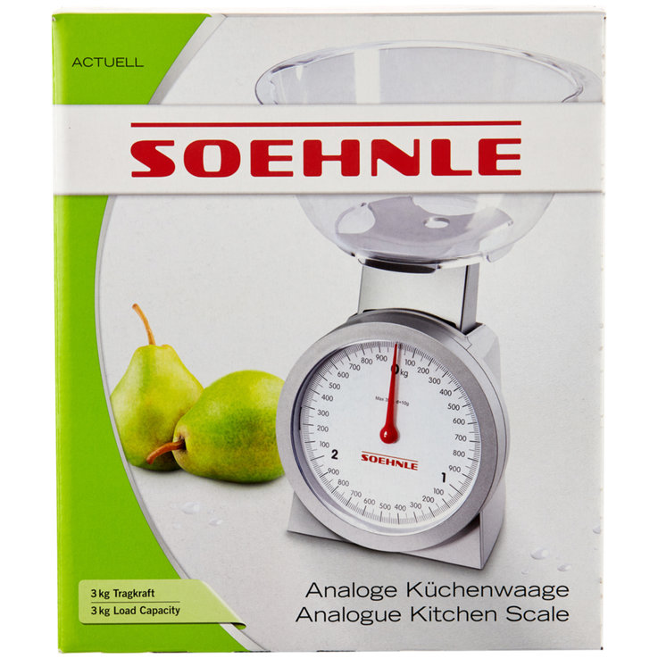 Kitchen Aids - Soehnle Kitchen Scale