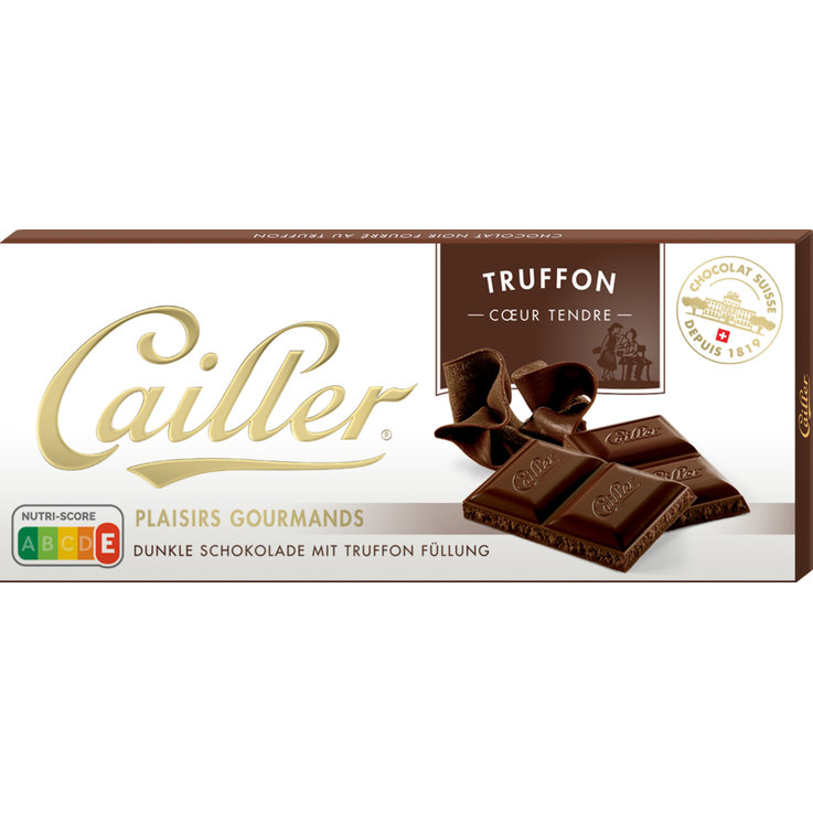 Milk with Ingredients - Cailler Plaisirs Gourmands Truffon Chocolate Bar