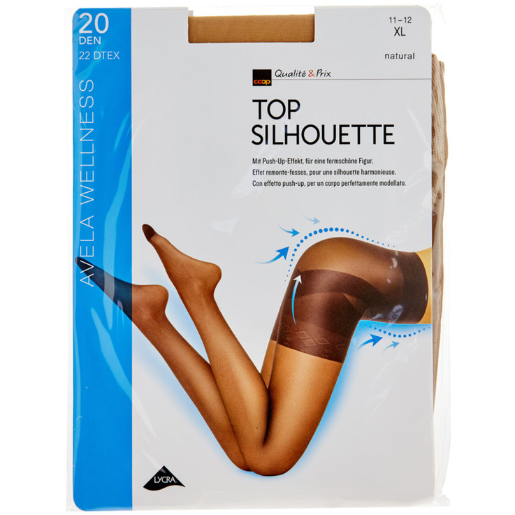 Stockings - Avela Top Silhouette 11-12 Natural Tights