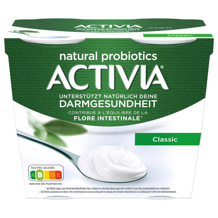 Natural Yogurt - Activia Classic Yogurts 4x115g