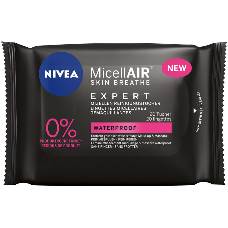 Cleansing Wipes - Nivea MicellAIR Exp. Reinigungstücher