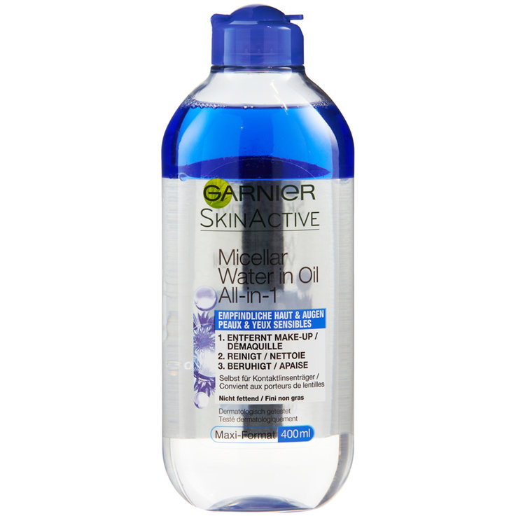 Facial Cleanser & Tonic - Garnier Sensitive Micellar Water