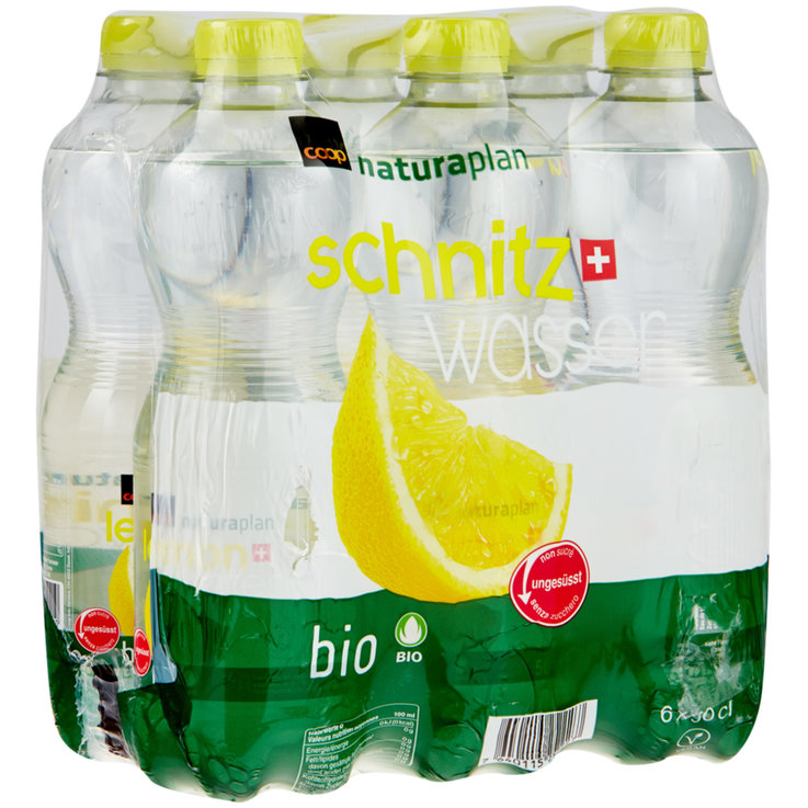 aromatizzate - Lemon water bio Naturaplan, 6 x 50 cl