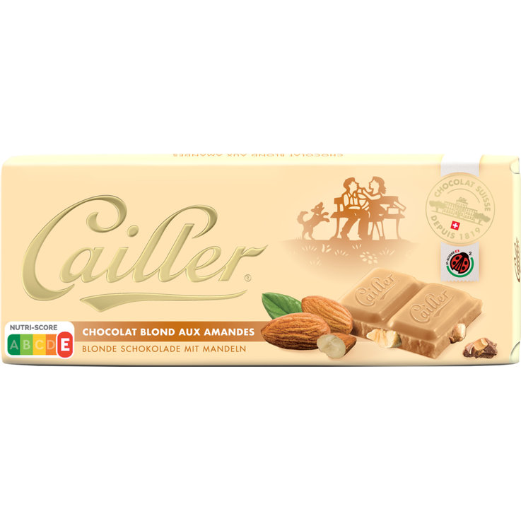 White - Cailler Blond Amond Chocolate Bar