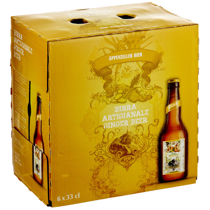 Blended Beer & Cider - Appenzeller Ginger Beer 6x33cl