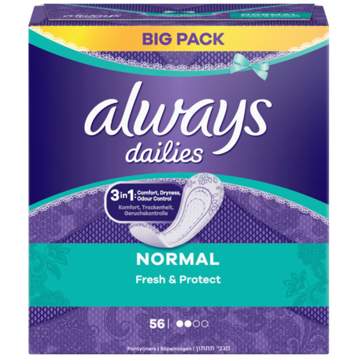 Salvaslip - Always Normal 56Pezzi