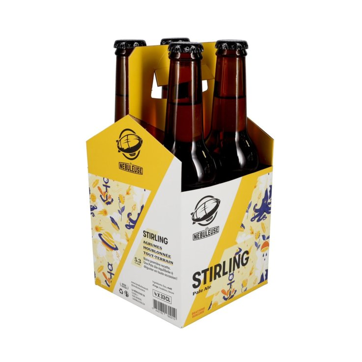 Bottiglie - Birra Stirling La Nébuleuse, 4 x 33 cl